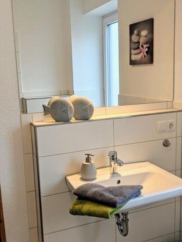 Bad / Gäste WC im  Erdgeschoss mit Dusche