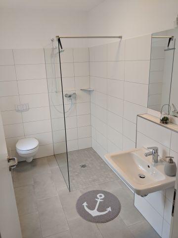 Gäste WC Erdgeschoss und Dusche