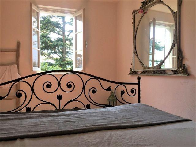 Appartement Breva: das romantische Schlafzimmer