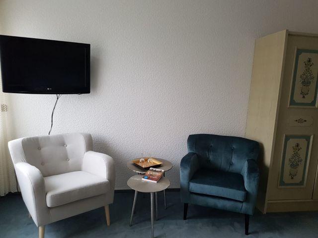 Sitzecke im Zimmer 5