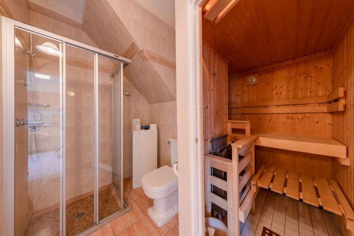 genießen Sie ihre eigene Sauna im Apartment