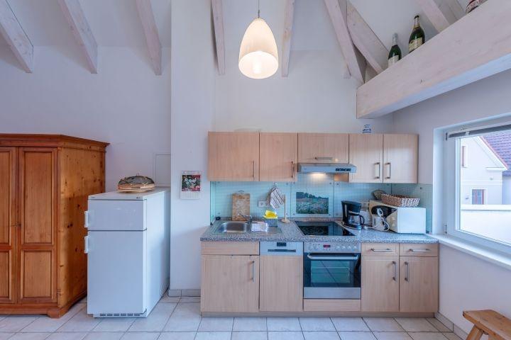 komplett eingerichtete Küche für Hobbyköche
