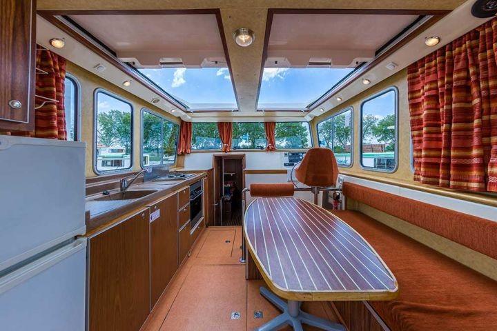 Hausboot Penichette 1120R mit großem Salon