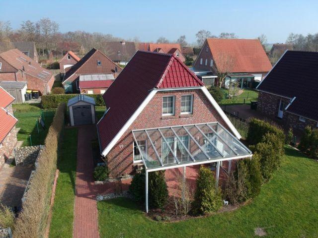Grundstück von oben  - Ferienhaus Ockenfels - Brandgansstraße