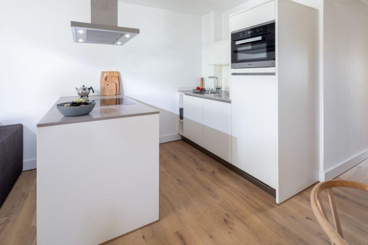 Küche im Wohnraum