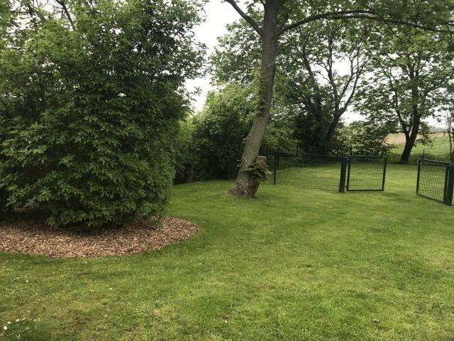 Garten komplett eingezäunt