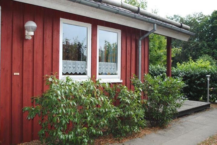 Zugang mit Terrasse zum Extertal-Ferienhaus Motte