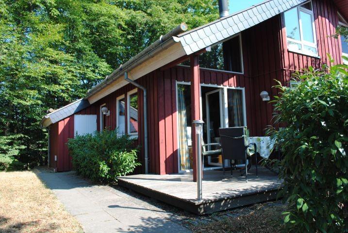 Ansicht vom Extertal-Ferienhaus Motte