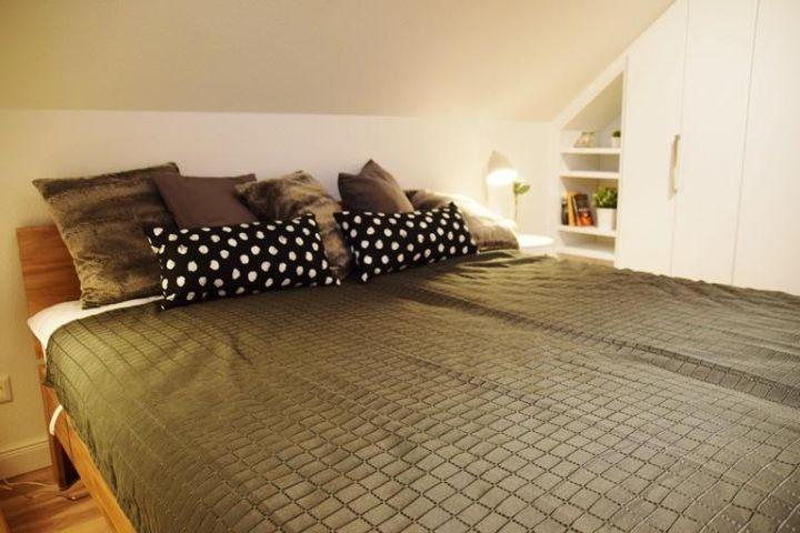 Blick Doppelbettschlafzimmer I