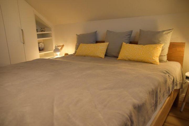 Blick Doppelbettschlafzimmer II