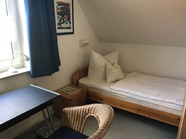 Kinderzimmer mit 2 Einzelbetten im Obergeschoss