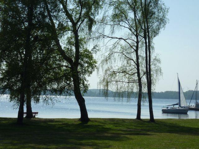 der große Plöner See vor der Haustür