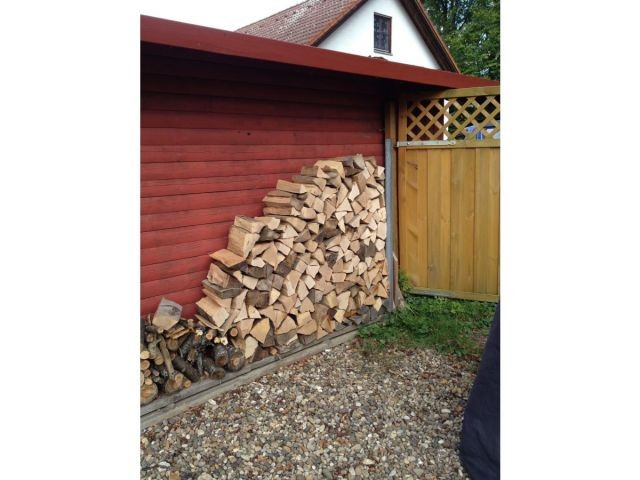 Holz für den Main ist reichlich vorhanden