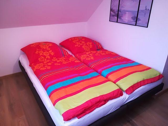 Betten im 2. Schlafzimmer
