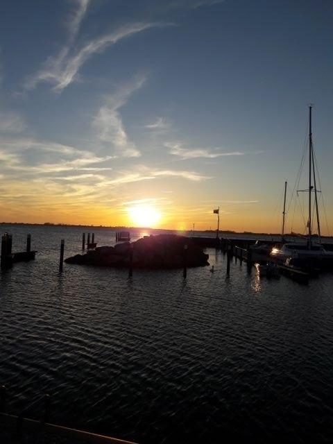Sonnenuntergang in Wiek