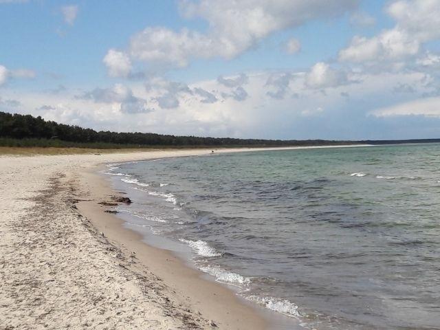 Die Schaabe - längster Strand von Rügen