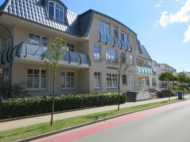 Kleine Appartementanlage in Binz