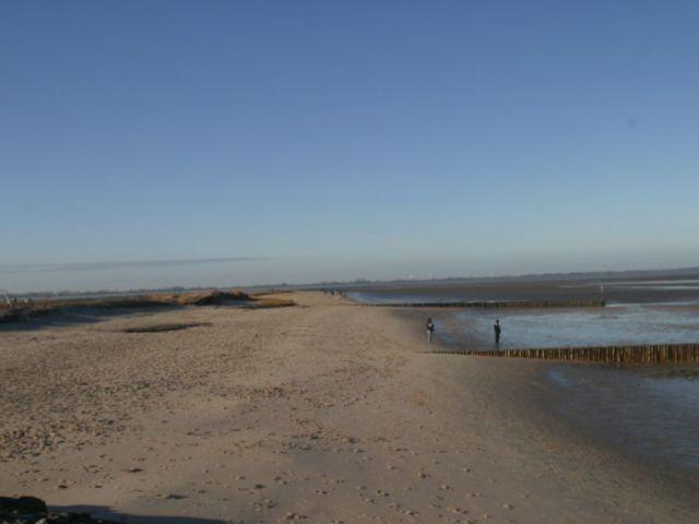 5kmn Strandabschnitt gibt es nur in Hooksiel