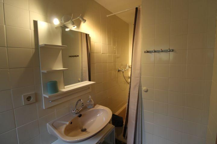 Das Duschbad - klein aber sauber und fein.
