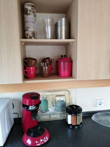 Senseo und Filtermaschine vorhanden. Natürlich auch der Kaffee und mehr!