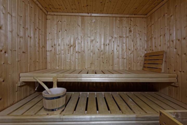 Sauna in jeder Wohnung