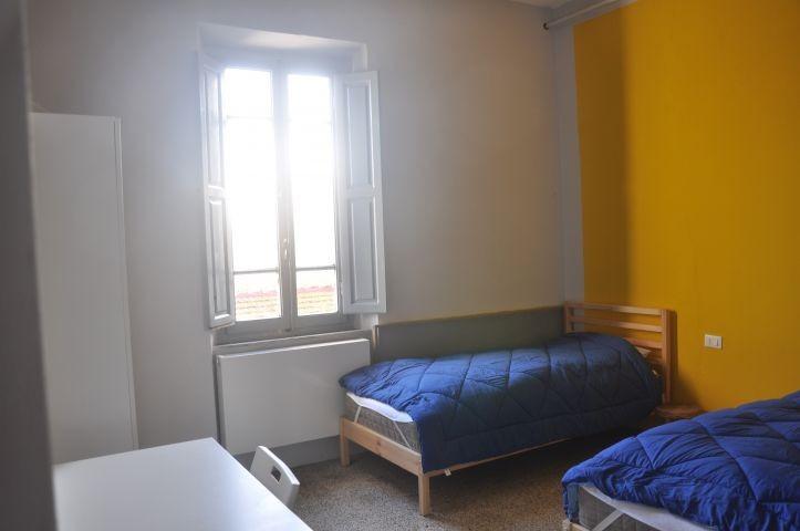 Schlafzimmer mit 2 Einzelbetten