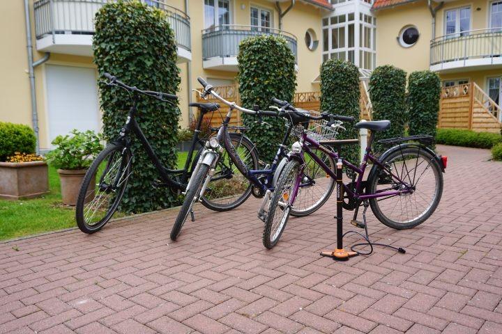 3 Fahrräder, kostenlose Nutzung
