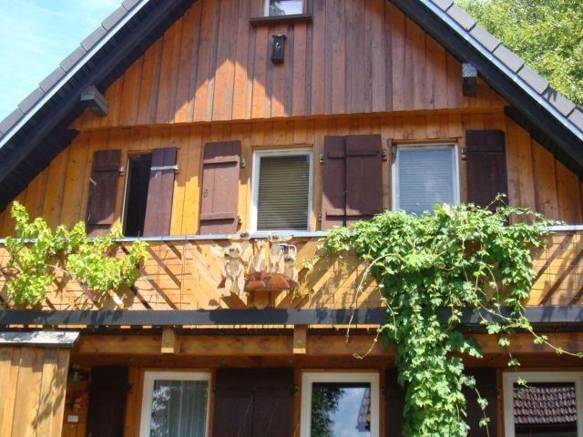 Frontansicht an einem Sommertag - Haus An der Staig