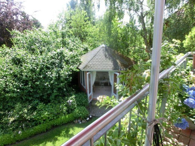 Genießen Sie Ihren Tee oder Kaffee im Gartenpavillion