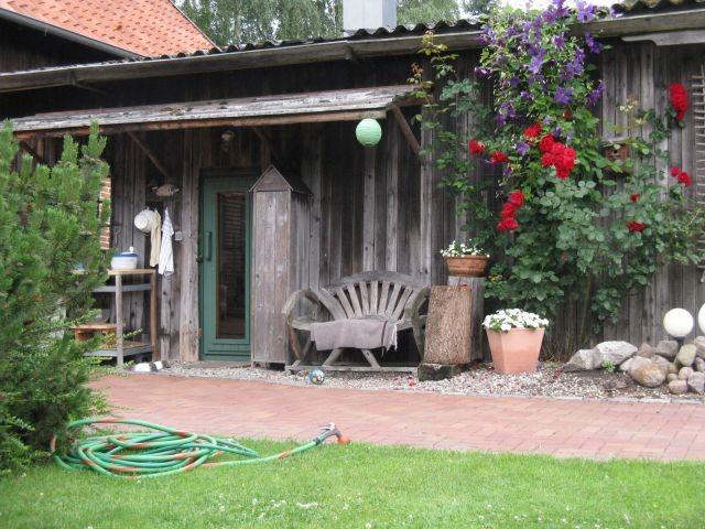 Die holzbefeuerte Saun - Brennholz gibt`s gratis dazu