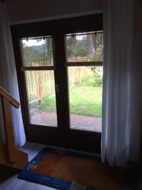 Blick zur Nordseite mit Tür