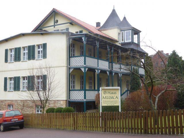 Haus Musica, Sinfonie oben links, Dachterrasse