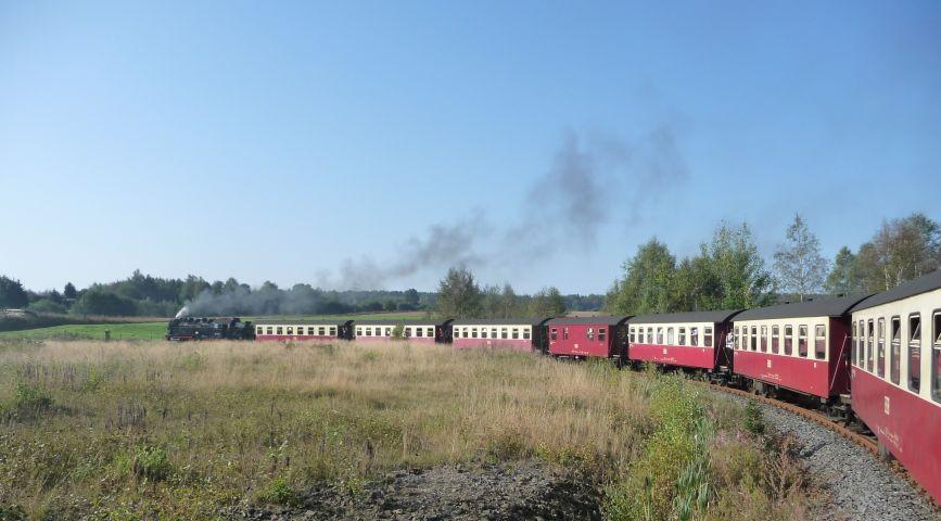 Schmalspurbahn von uns bis zum Brocken ©A. Zahn