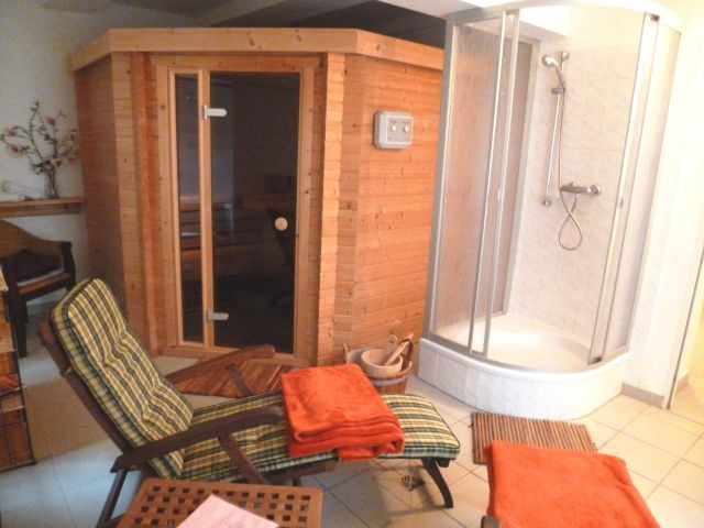 Sauna im Keller, frei ab 3 Nächte