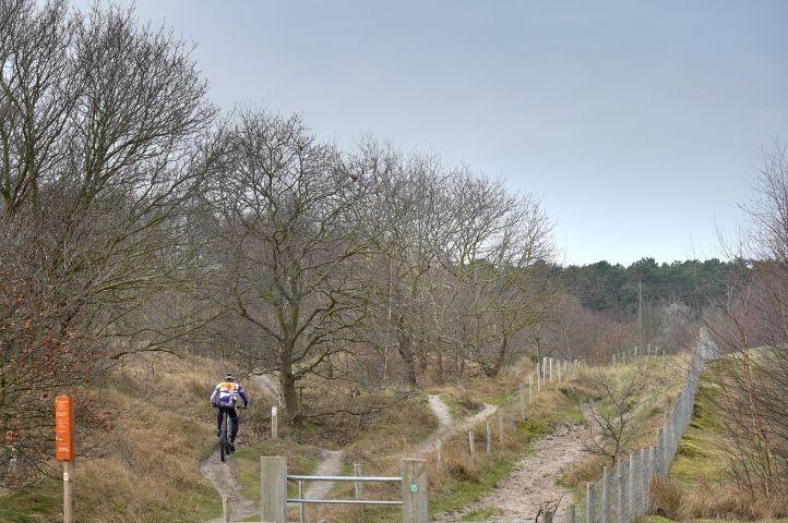 ATB Route im Naturschutzgebiet