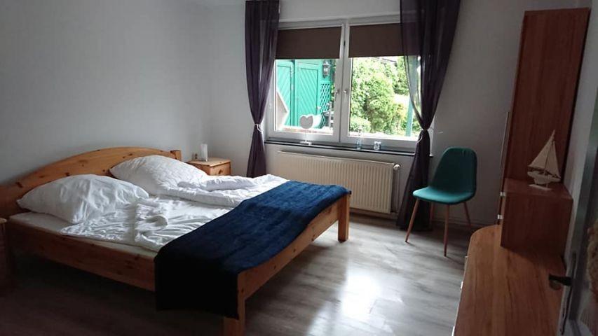 Schlafzimmer 2 Erdgeschoss / Doppelbett