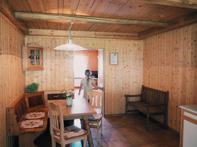 Bauernsitzecke in der Küche