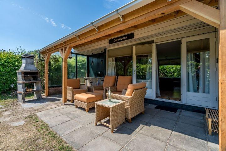 Das neu eingerichtete Ferienhaus mit toller Veranda