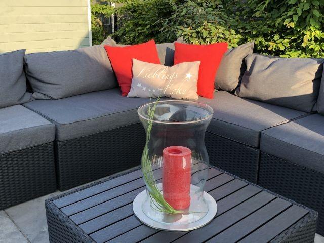 Lounge auf der Sonnenterrasse