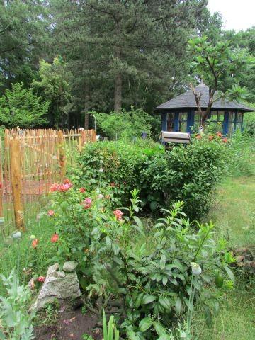 Gartenhaus mit Fliegengitter