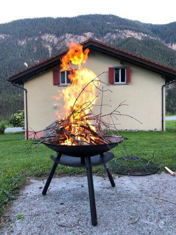 Feuer und Flamme für das Haus :)