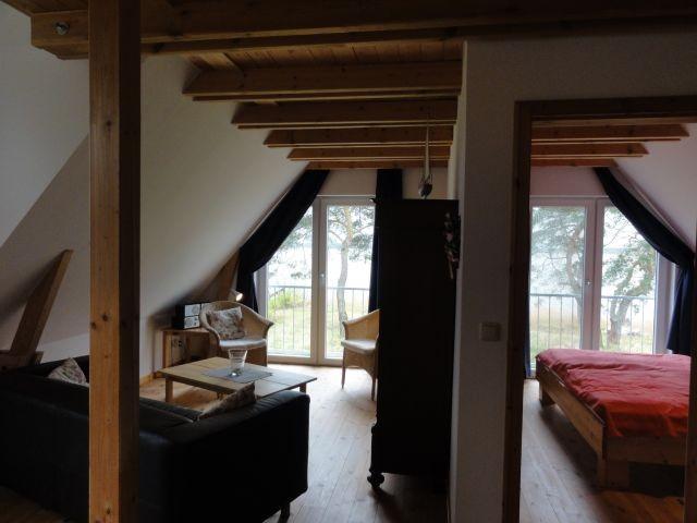 Wohnbereich / Schlafzimmer  (OG)