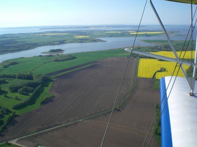 Lieper Winkel aus der Luft betrachtet