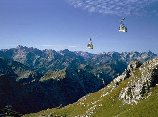 mit der Bergbahn kostenlos auf das Nebelhorn