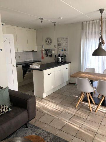 Küche, Essbereich und Wohnzimmer