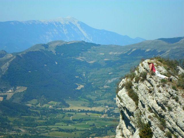 Wanderung in der Montagne de Lure