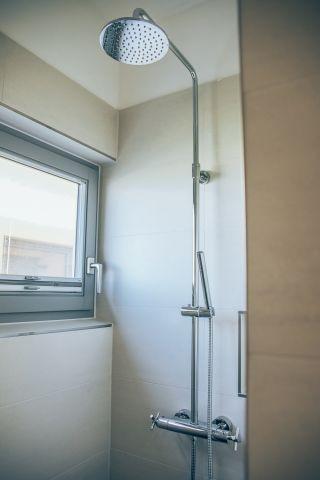 Dusche im Erdgeschoss inkl. Gäste WC