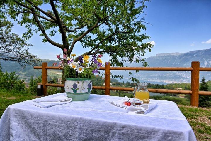 Frühstück im Garten gefällig?