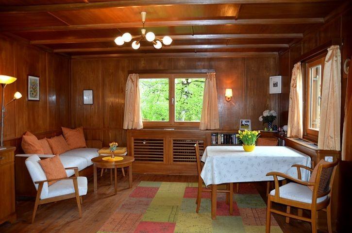 Wohnzimmer mit Eßbereich, Erdgeschoß