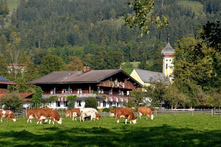 Blick auf Fischbachau